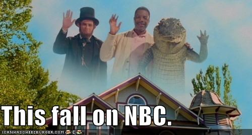 abraham lincoln,alligator,dumb,NBC,networks,roflrazzi,stupid,TV,wtf