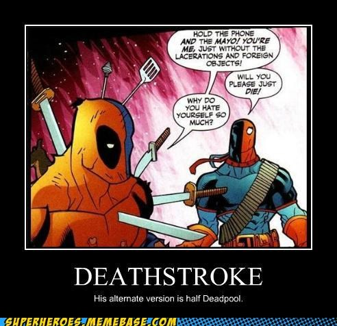 alternate deadpool deathstroke Super-Lols version - 5150444544