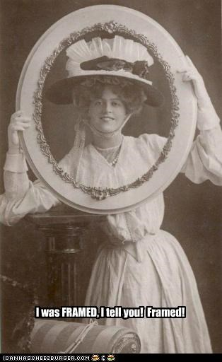 bad puns framed frames historic lols puns women - 5150447360