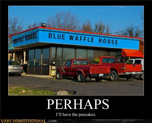 blue waffle,gross,nom nom nom,Terrifying,waffle house,yikes