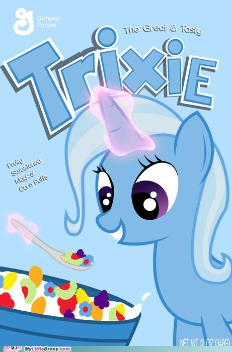 art cereal crossover for bronies trix trixie - 5150609152