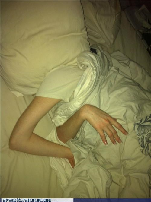 wtf passed out arm funny - 5150638592