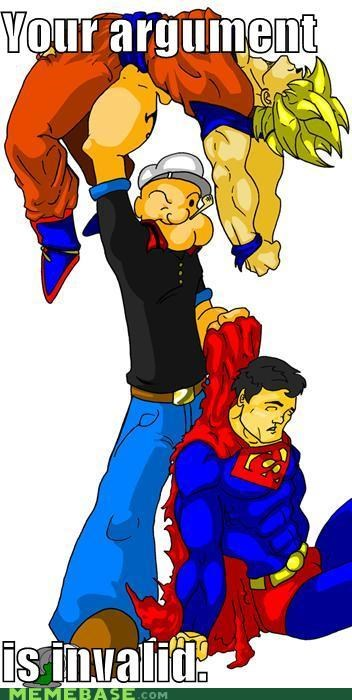 argument,dragonball,invalid,Memes,popeye,superman