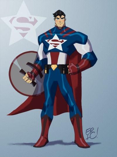 marvel mashup art DC superheroes - 515077