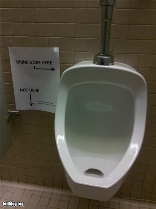 bathroom,failboat,g rated,oddly specific,signs,urinal