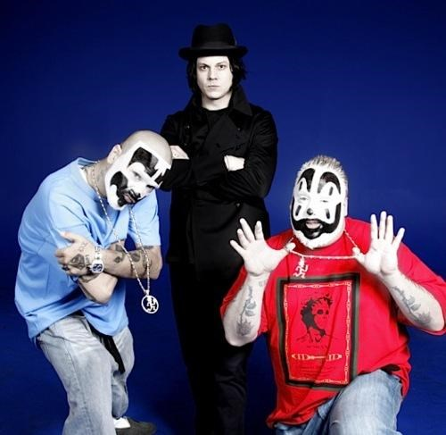 ICP,insane clown posse,jack white,Thoroughly Confusing Coll