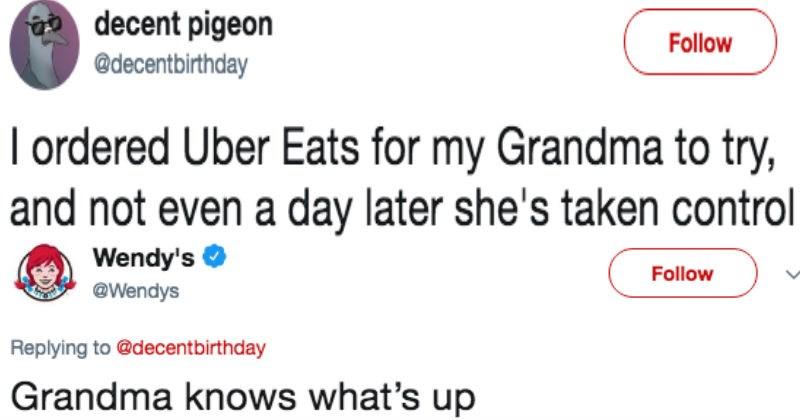 grandma discovers uber eats