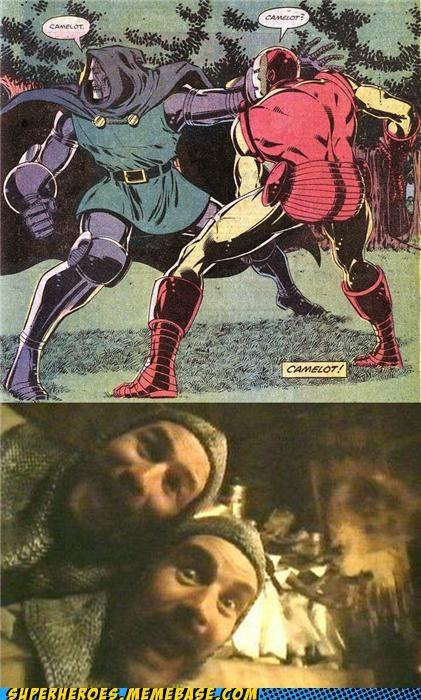 best of week camelot doctor doom iron man monty python Random Heroics - 5151804160