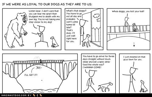 comic doghouse diaries friendship loyalty - 5152150784