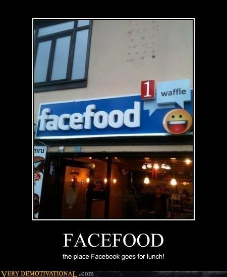 facefood hilarious restaurant waffle - 5152191488