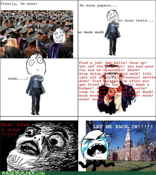 best of week,college,graduation,Rage Comics,real life