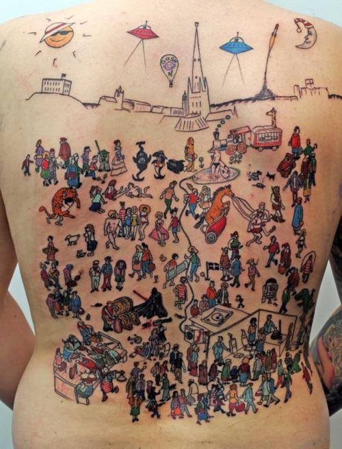 John Mosley Puzzle Piece Rytch Soddy tattoo wheres waldo wheres-wally - 5152460544