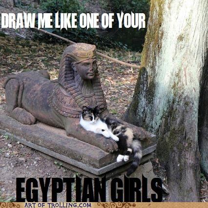 cat,egypt,paint me