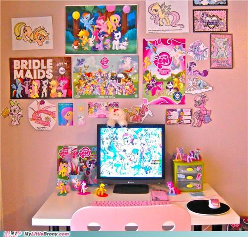 being a brony,IRL,my room,products,room