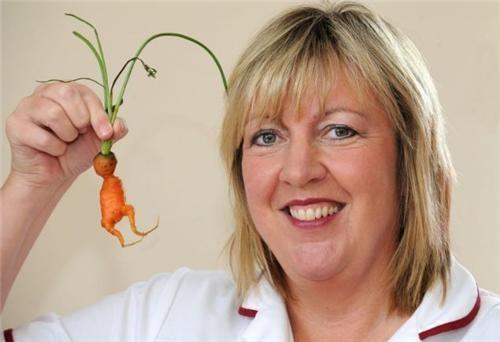 Carrot Alien Baby,kevin,Pareidolia,Yvonne Darnell