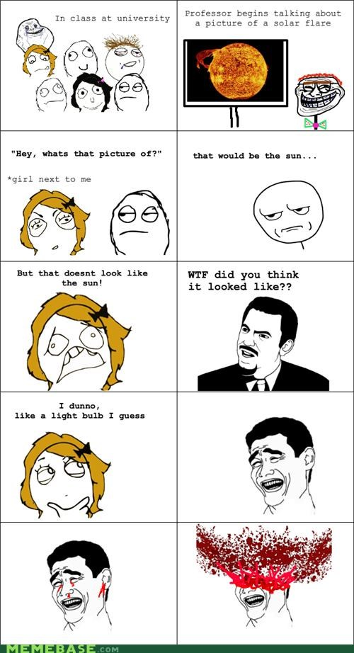 dumb Rage Comics school sun wtf - 5152737280