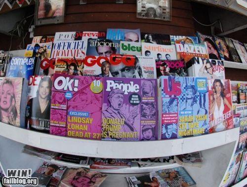 celeb gossip guerrilla hacked magazine tabloid TrustoCorp - 5153036800