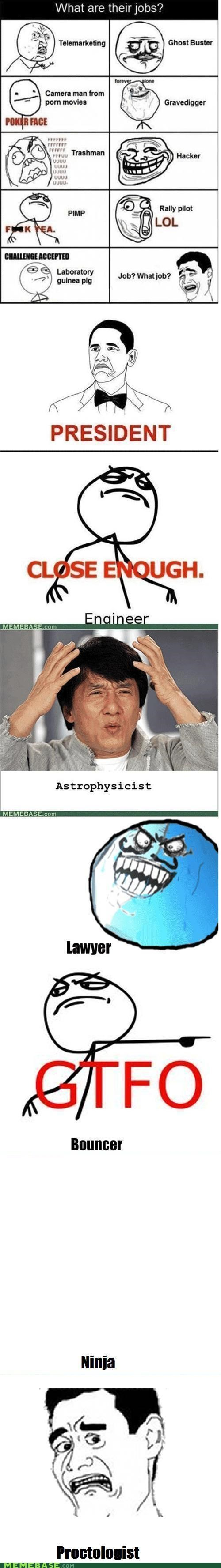 faces jobs Memes proctologist Rage Comics scary - 5153050624
