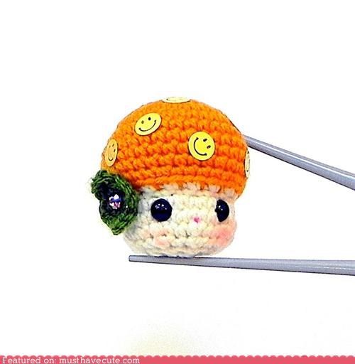 Amigurumi mushroom Plush tiny - 5153134336
