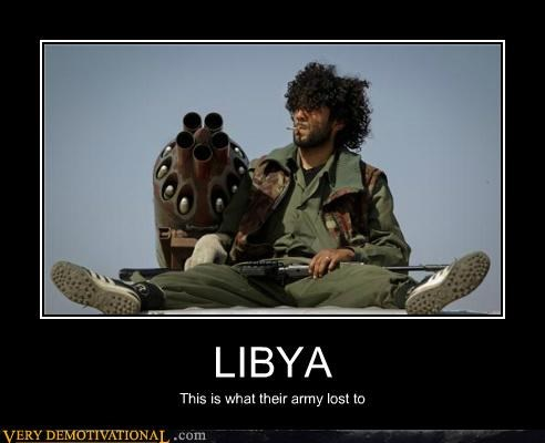 LIBYA This is what their army lost to
