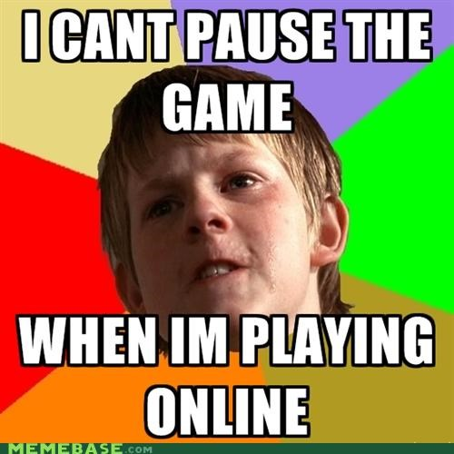 angry school boy gaming MMO mom pause RPG - 5153412096