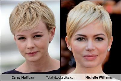 actress,actresses,blondes,carey mulligan,michelle willians,short hair