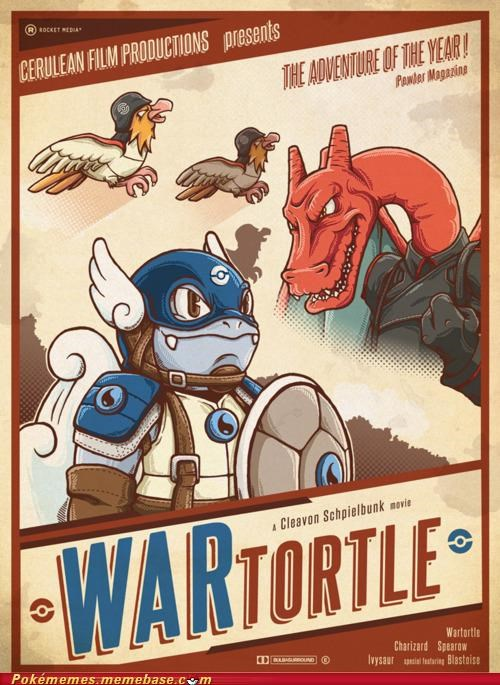 art cerulean films gen 1 Movie starters wartortle - 5153604864