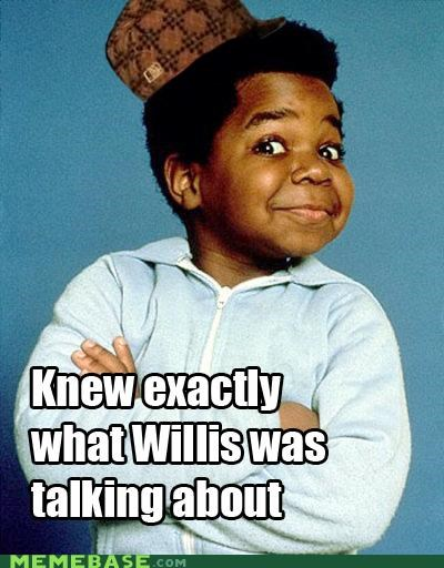 different strokes gary coleman Memes television willis - 5153633024