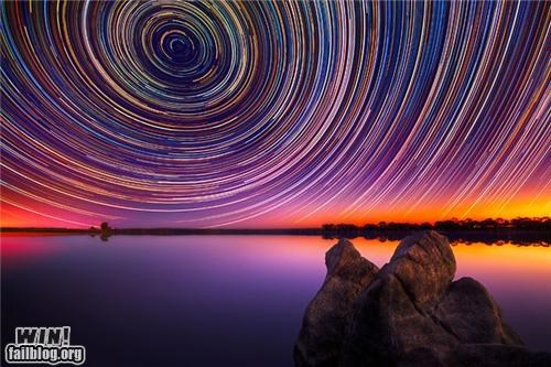 Stars from Australia -this is time lapse and it's REAL