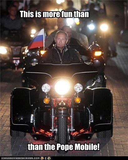 motorcycle,political pictures,Vladimir Putin