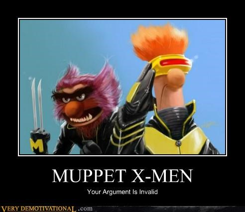 animal beaker cyclops muppets Pure Awesome way better than any of the movies wolverine x men - 5154124288