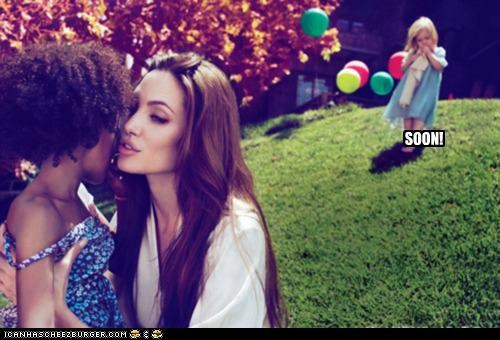 actresses,Angelina Jolie,kids,roflrazzi,SOON