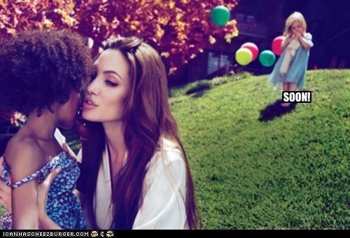 actresses Angelina Jolie kids roflrazzi SOON - 5154443776