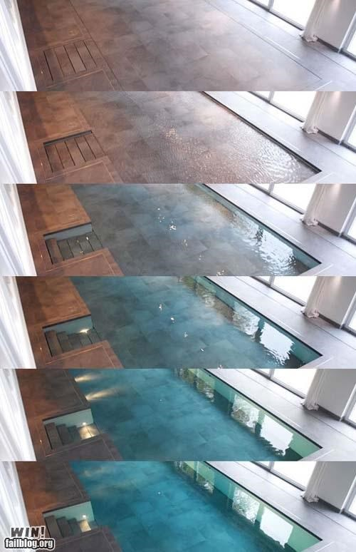 camouflage design home interior pool swimming - 5154453504
