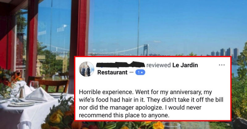 man caught out about lying in restaurant review