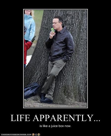 actor,celeb,demotivational,funny,tom hanks