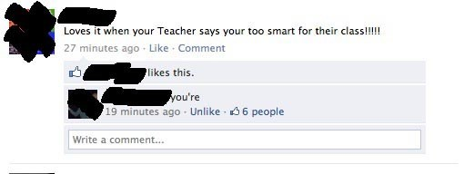 facepalm,grammar,irony,school