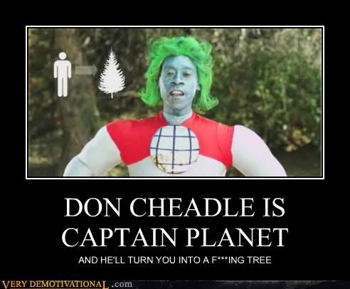 awesome captain planet Don Cheadle environmentalism Pure Awesome - 5155937536