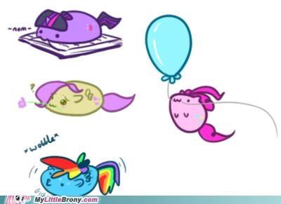 art fluttershy nom pinkie pie rainbow dash supernaturals - 5156046336