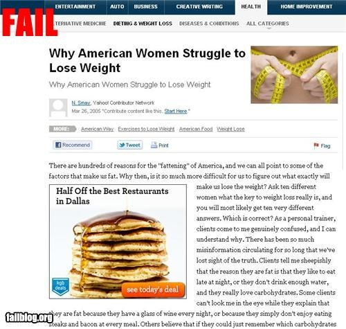Ad failboat fat g rated juxtaposition Probably bad News - 5156102144