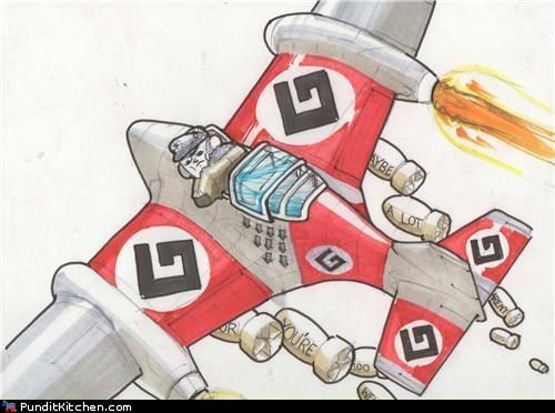 grammar,nazis,political pictures,puns