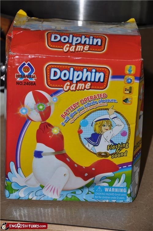 dolphin game infinite kid pleasure toy whoops wrong
