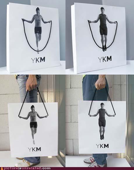 bag,jump rope,wtf