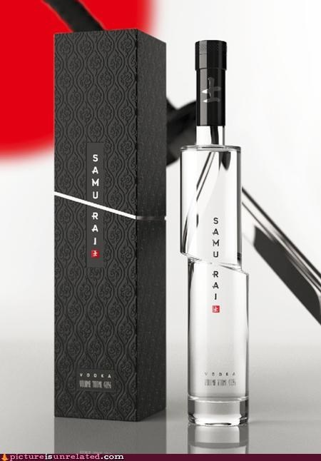 bottle samurai vodka wtf - 5156507648
