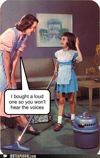 best of the week Hall of Fame historic lols kid loud mom mother and daughter vacuum vintage - 5156798464