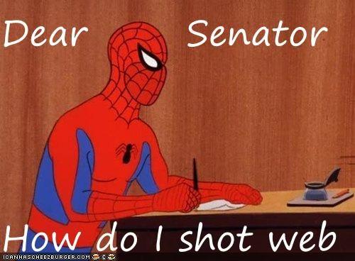 senator shot Spider-Man Super-Lols web - 5156883456