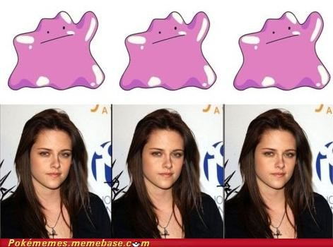 cant-transform-face,ditto,Evolve,IRL evolution,kristen stewart,same expression