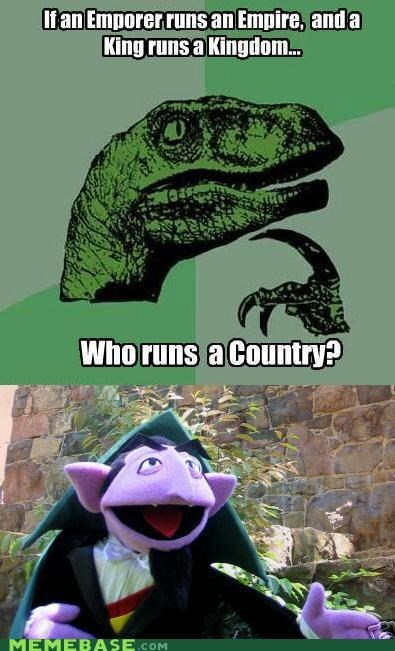 ah ha ha,count,counting,country,muppet,philosoraptor,Sesame Street