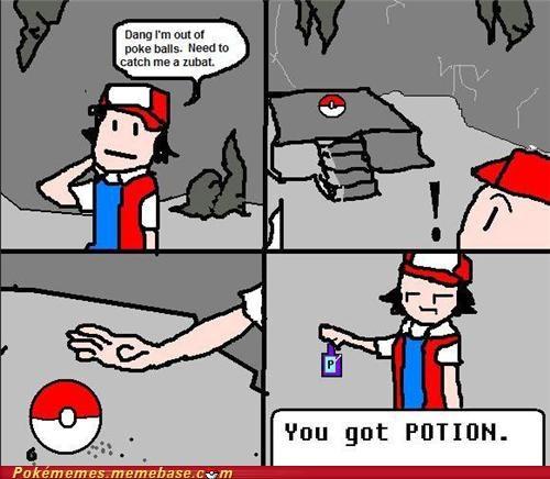 comic gameplay item sprites pokeball potion - 5157320192