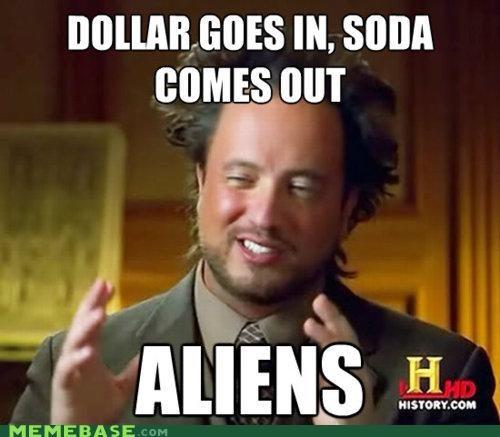 Aliens explain history Memes - 5158261248